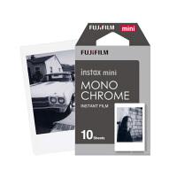 富士拍立得 mini8/9/7s/25/70/90 相机通用相纸mini黑白时光相纸10张