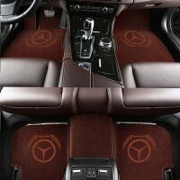适用于S400奔驰S450L地毯E300L GLE320 GLC300GLS400羊毛汽车脚垫
