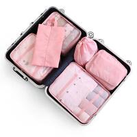 旅行收纳袋套装行李箱衣服整理包旅游衣物收纳袋内衣分装袋子