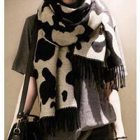 秋冬季韩版牛奶纹斑点仿羊绒围巾大围脖保暖披肩男女情侣款围巾