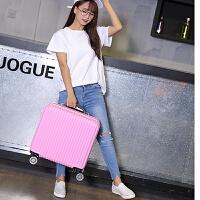18寸16寸拉杆箱韩版小行李箱女可爱迷你20小型旅游密码箱