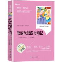 暑期老师推荐爱丽丝漫游奇境记 小学生版 小学生课外阅读书籍 儿童文学读物 儿童故事