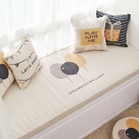飘窗垫窗台垫定做卧室简约现代阳台垫子加厚榻榻米坐垫原创北欧