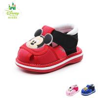 迪士尼Disney童鞋18新款婴童宝宝鞋哔哔哨幼童学步鞋宝宝步前凉鞋 (0-4岁可选)DH0331