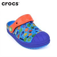 Crocs卡骆驰儿童洞洞鞋 防卫兵男女儿中童沙滩鞋凉鞋 204126