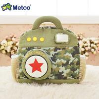 相机书包毛绒玩具幼儿便携文艺双肩包旅行背包 儿童节礼物