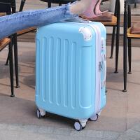 行李箱女拉杆箱小清新旅行箱子万向轮密码大学生可爱韩版皮箱拉箱SN0621