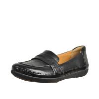 Clarks其乐女鞋浅口轻质休闲单鞋Un Charleen专柜正品