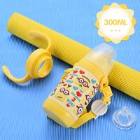婴儿保温奶瓶宝宝鸭嘴杯吸管杯儿童吸管鸭嘴保温水杯学饮杯a232