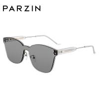 帕森太阳镜女 透色简约时尚大框金属板材驾驶镜墨镜7740