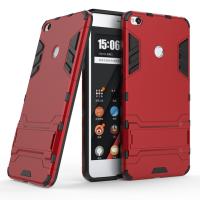 小米max2手机壳 小米MAX2保护套 小米max2 手机保护壳 全包边防摔硅胶支架金属感钢铁侠铠甲硬壳