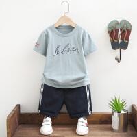 男童夏装新款套装夏季童装儿童中大童两件套韩版潮
