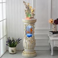 水景摆设家庭室内客厅装饰品欧式工艺品招财创意摆件乔迁新居礼品