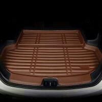 2018款17凯美瑞新卡罗拉雷凌RAV4威驰FS致炫全包围后备箱垫子 耐磨 加厚款(咖色)