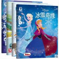 迪士尼冰雪奇缘系列乐高艾莎爱沙爱莎安娜美丽芭比小公主娃娃女孩女童绘本大全全套装 小学生儿童玩具故事书