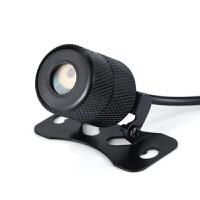 摩托踏板车改装配件彩灯激光射灯防追尾警示雾灯后尾灯led投影灯