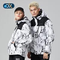 【�p12��先�:599元】Discovery非凡探索�敉馓铰氛咔锒�新品男式保暖防�L滑雪服DAHG91651