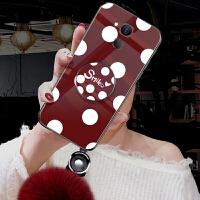 华为mate8手机壳nxt-TL00套Al1o玻璃6寸冬迈特8硅胶mafe8波点meta8女款梅特8