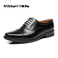 正装皮鞋男07B士官三接头皮鞋07A制式校尉军官三尖头皮鞋男鞋