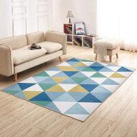 简约北欧风家用地毯客厅沙发茶几卧室床边满铺现代可机洗毯子