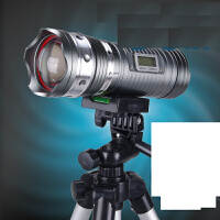 钓鱼灯 50W蓝光黄光白光紫光三光源150W夜钓灯变焦调焦充电探照灯