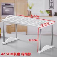 办公衣柜板收纳分隔多层整理架桌面塑料置物架厨房水槽储物小架子
