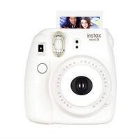 【包邮】Fujifilm/富士 instax mini8一次成像相机白色 拍立得胶片 趣奇相机