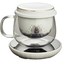 玻璃杯茶水分�x�G茶泡茶杯�m��彩�饶�加�岜�乇��|茶具