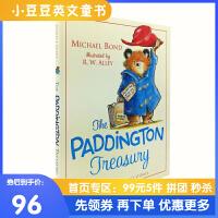 现货 英文原版绘本 The Paddington Treasury 帕丁顿熊6个故事集 精装大开本 进口经典儿童故事绘