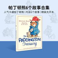 现货 英文原版绘本 The Paddington Treasury 帕丁顿熊6个故事集 精装大开本 进口经典儿童故事绘本
