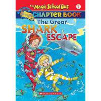英文原版 The Magic School Bus A Science Chapter Book The Great