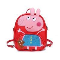 幼儿园书包小猪佩奇包包儿童双肩包小朋友斜挎包迷你3456岁小书包