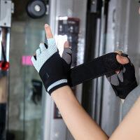 健身手套女运动男器械训练半指瑜伽防滑动感单车锻炼耐磨护腕护掌
