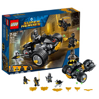 当当自营LEGO乐高DC超级英雄系列蝙蝠侠大战利爪军团76110塑料积木玩具