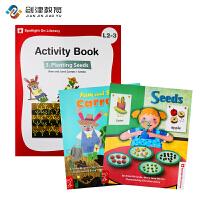 Spotlight on Literacy L2-3系列含2本故事书(book1+book2)+1本练习册+1光盘 原装