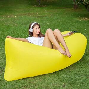 幽咸家居 户外垫子 便携充气床 沙滩用充气沙发 可折叠 超轻户外 野营睡袋沙发 空气床 懒人沙发