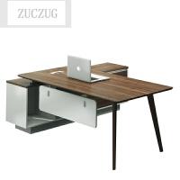 ZUCZUG办公家具办公桌老板桌简约现代 大班台主管桌经理桌 办公桌椅组合