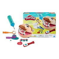 儿童礼物玩具培乐多益智彩泥模具小小牙医安全橡皮泥