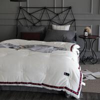 秋冬季被子冬被单人床1.5m床上用品学生宿舍时尚 水洗棉被芯