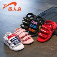 【一件二折;59】贵人鸟童鞋男童凉鞋儿童夏季中大童女童鞋宝宝小童软底沙滩潮鞋