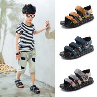 夏季儿童真皮凉鞋 男童沙滩鞋牛皮童凉鞋休闲凉鞋儿童凉鞋韩版凉
