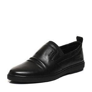 Belle/百丽春专柜同款牛皮套脚男休闲鞋4SV02AM7