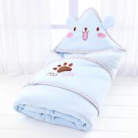 ???新生儿包被婴儿抱被纯棉宝宝被子春秋冬季加厚抱毯用品可脱胆睡袋