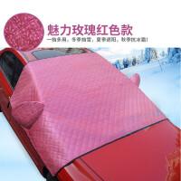 猎豹H2S车前挡风玻璃防冻罩冬季防霜罩防冻罩遮雪挡加厚半罩车衣