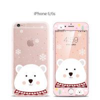 创意樱花兔子 苹果6S手机壳卡通硅胶软壳iphone6plus全包防摔外壳