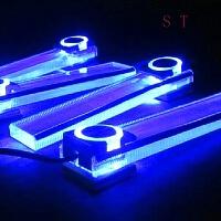 -汽车装饰LED气氛灯 点烟器直插室内氛围灯 脚底灯内饰免改装 一套四个