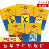 全新正版限时抢,满39包邮,活动中・・长袜子皮皮 林格伦儿童文学作品集 美绘版非注音版全5套三四五六年级课外阅读读物绘