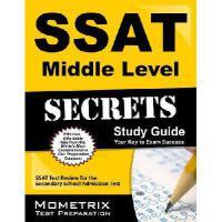 【预订】SSAT Middle Level Secrets Study Guide: SSAT Test Review