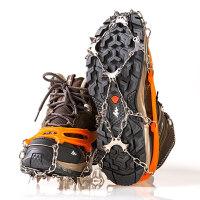 户外冰爪防滑鞋套男女户外登山钉鞋链超轻简易雪地装备不锈钢雪爪