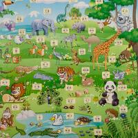 eva宝宝爬行垫儿童拼图泡沫地垫60x60拼接铺地板垫子大号加厚家用
